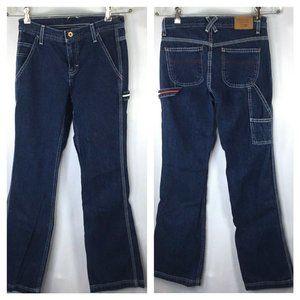 Tommy Jeans~Hipster Carpenter~Vintage~Dark~Logos~